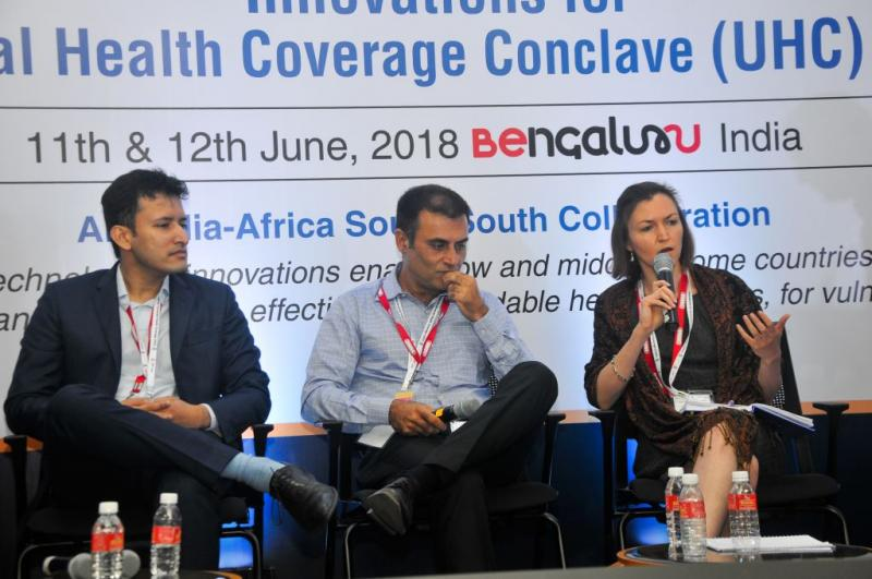 CHMI UHC Innovation Conclave conference Bangalore 2018